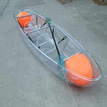 Transparent Crystal Clear Kayak 2 Person Touring Kayak Clear Bottom Canoe