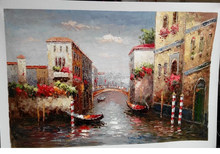 Free Shipping tuscany landscape oil painting