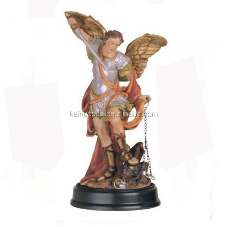 5-Inch Saint Michael the Archangel Holy Figurine Religious Decoration