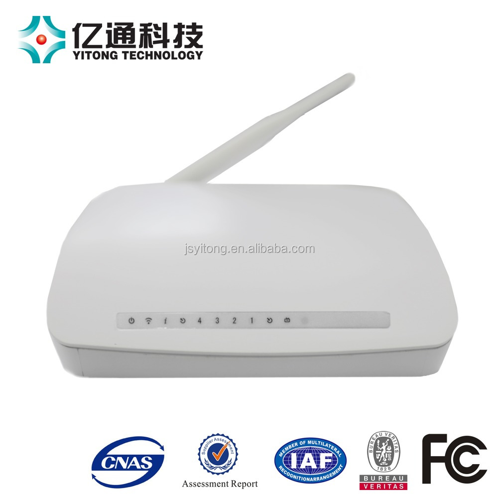 GEPON ftth 4ge catv wifi onu optical fiber switch