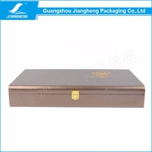 Jewelry Box Custom Logo Factory Price leather Jewelry Box