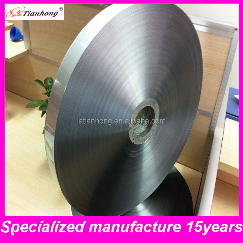aluminum foil flexible duct/Mylar coated aluminum foil used for air pipe