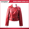 Chonghan 2017 Winter Fashion Decorate Red Colour Womens Jacket