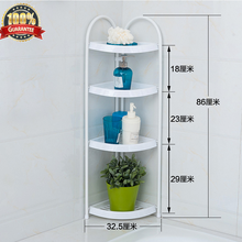 Sunction cup bathroom shelf bathroom pole adhesive shelf