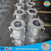 Metal corrugated bellows compensator for gas supply and exhaust pipe