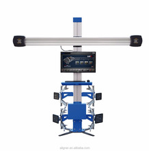 Excellent stability and repeatability 3D wheel alignment