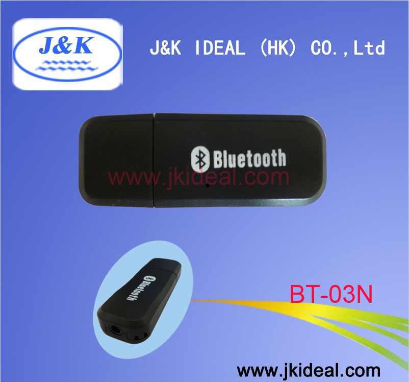 BT-03N Bluetooth usb dongle music receiver adapter aux for car