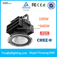 New design ce rohs industrial XBD,Epistar ip65 meanwell 100w high power led high bay lights