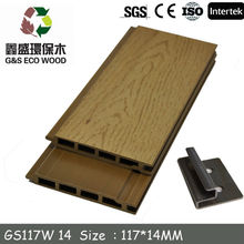 Wood Plastic Composite Wall Panel /WPC decking Manufacturer /WPC DECKING Suppiler