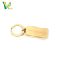 Custom design professional Zinc Alloy 3D Gold shape O Ring Wholesales Metal Keychain