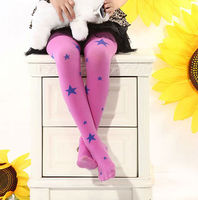 Children pantyhose wholesale custom colored tights