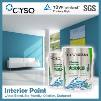 Water Based flat finish interior wall paint