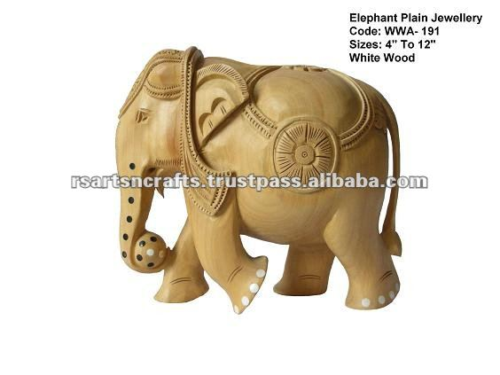 wooden elephant statue/wood carving elephant