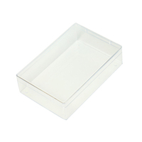 GuangDong manufacturer all kinds of style PVC transparent plastic box with printing