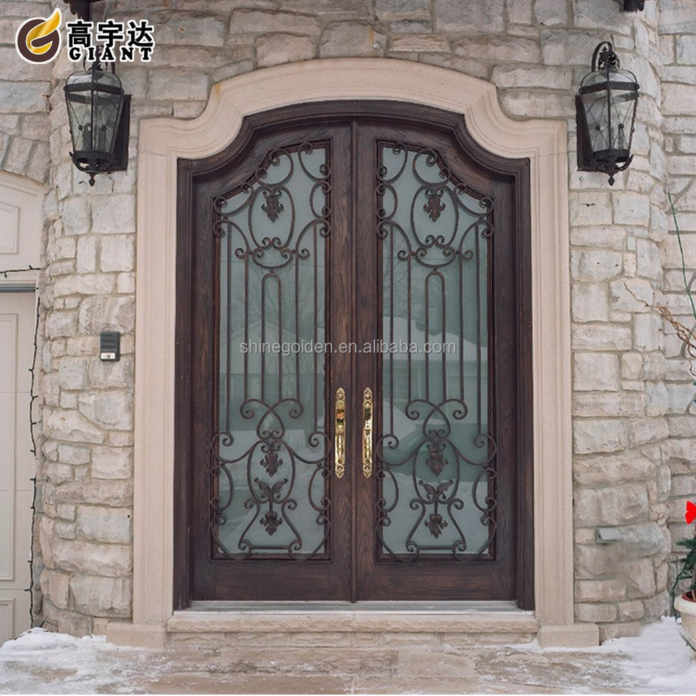 Latest design wooden color entry front door buy latest for Latest front door design