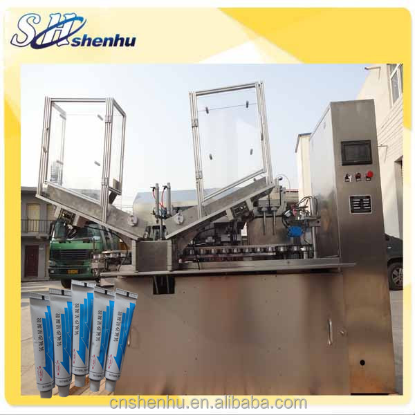 shanghai shenhu two filling head super glue fill machin/aluminum tube machinery