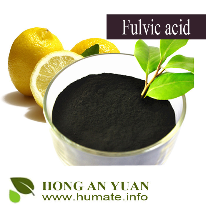 humic acid liquid or shiny powder fertilizer