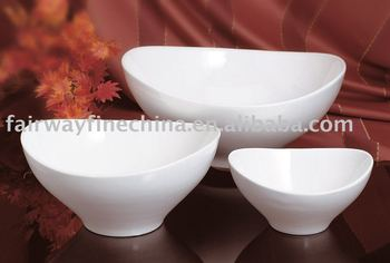 Best Selling Super Quality Western Cuisine Bowl in Porcelain