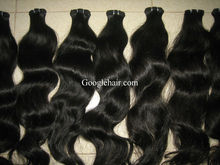 Machine made weft soft vietnam human hair deep wave 7A grade.