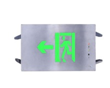 LST Green color LED exit sign for fire safety escape 110V-240V