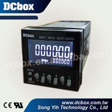 48*48 mm Digital LCD Panel Timer Meter
