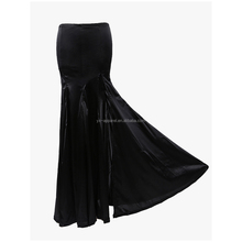 Plus Size XXL Satin Ladies Dress Steampunk Ruffle Fishtail Gothic Corset Long Skirt