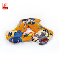 Hot selling outdoor play toys 25CM pu spin disk toy for kids with EN71/10P/ASTM/HR4040/BSCI