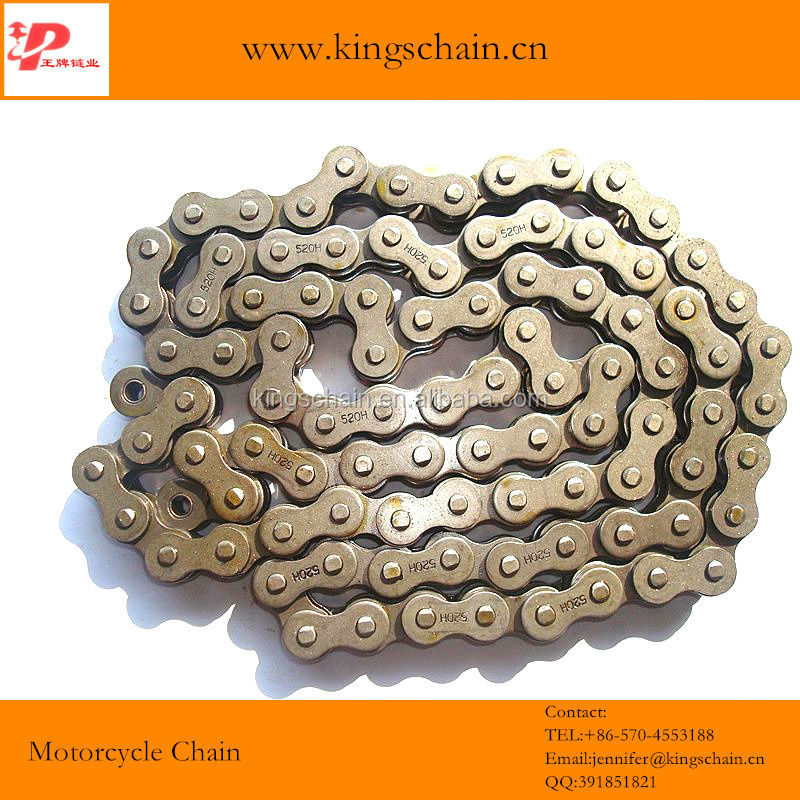 spare parts for motor o ring chain high tensile 520H dirt bike chain