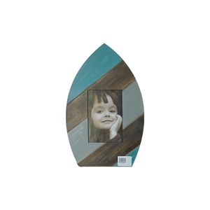 Wooden Antique Hunting Photo Frame With Boat Shape