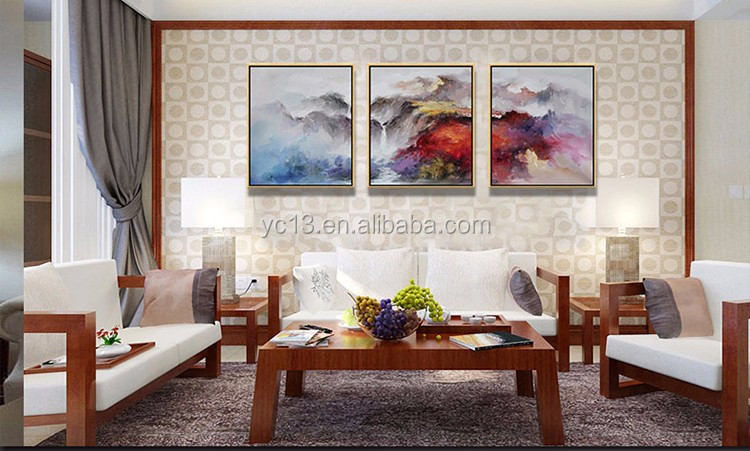 home decor frame modern wall art abstract Oil Painting