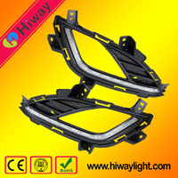 Wholesale led auto fog lamp led daylight DRL for Hyundai Elantra 2013-2015 auto parts
