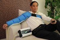 2014 hot selling air compression therapy digital 2 A B mode pressure therapy lymphatic drainage machine PT1002