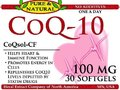 CO-Q10 100mg soft-gels (bottle of 30) product