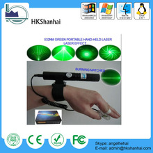 Hot sale 532nm hand-held disco lighting green 1000mw laser pointer
