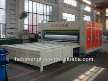 box printing slotting rotary die cutting machine vacuum table flat screen printing machines for big sign