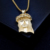 New Coming Fashion Gold Jesus Piece Pendant For Men