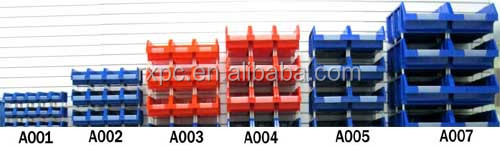 plastic storage box for sorting tools and industry accessories in many sizes and colors