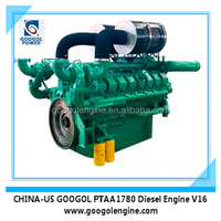 900kW 1125KVA Small Power Diesel Engine with Turbo