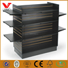 "High quality ""H"" shaped retail display units,black store display with shelves"