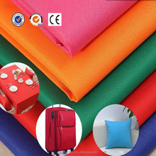 600D 100 polyester oxford fabric for waterproof bag breathable material
