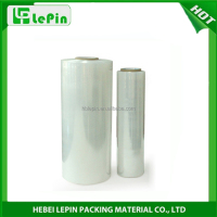 Transparent LLDPE Plastic Stretch Wrap Film for Cargo Packing