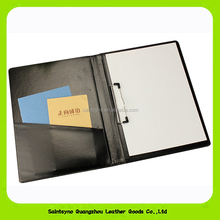 15035 Custom Cheaper Price Official Business Conference Meeting Leather Folder, A4 Leather Portfolio / Holder