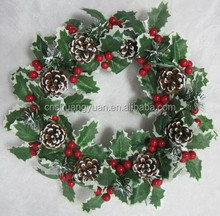Good looking artificail Christmas wreath newest Xmas decoration