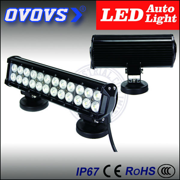 OVOVS amber cover 72W high lumen led light bar for truck, 4x4