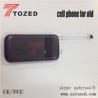 2015 tozed high quality mobile phone old man mobile phone Senior cell phone