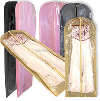 clear plastic Dance Dress Garment Bags