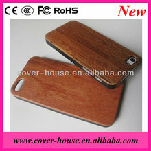 New Arrival Wood+PC case for iPhone 5G 5S, for iphone 5S Wood case with PC