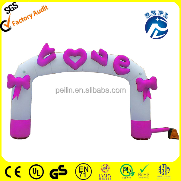 ZZPL Inflatable wedding arches/inflatable advertising arch/inflatable archway AR-6