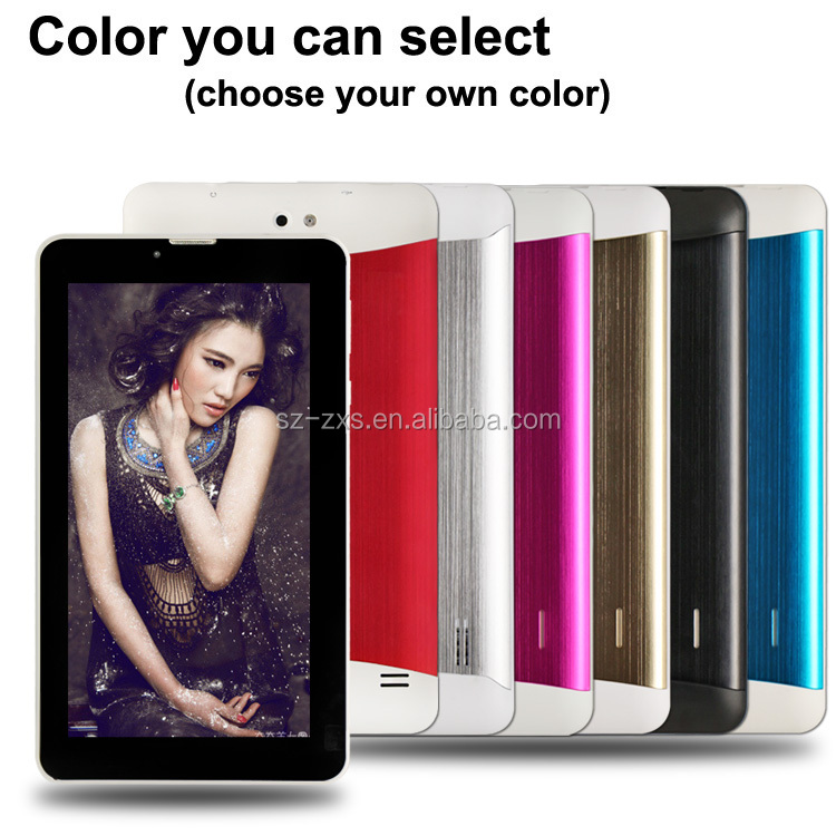 ZXS-7-MTK-706 7 inch Low Cost MTK Easy Touch Android Smart Cheapest 3G Tablet pc with Sim Slot,Roll Laptop Price Supplier