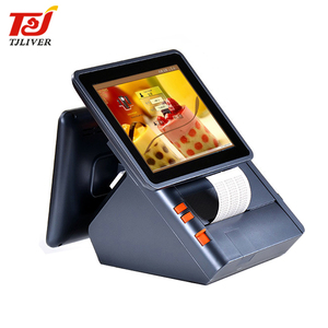 10 inch two touch screen electronic cash register ordering pos system